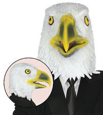 Eagle Mask Bird of Prey Adult Animal Fancy Dress Latex Full Head Zoo Hawk USA