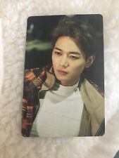 SHINee Minho 1and1 Sm Coex Sticker Official Card Kpop K-pop Us Seller