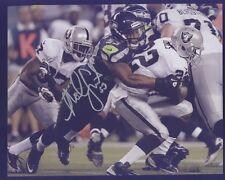 Seahawk Malcolm Smith Super Bowl MVP vs Raiders Autograph A Silver Pen