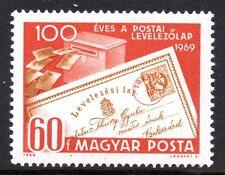 Hungary - 1969 Postcard centenary Mi. 2543 MNH