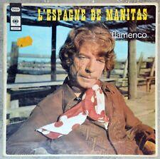 33t Manitas de Plata - L'Espagne de Manitas - Flamenco (LP)