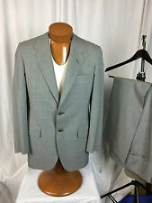 * OXXFORD * Clothes for Neiman Marcus 2 Pc Gray Glen Check Suit 39T STUNNING!
