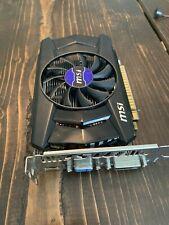 MSI nVidia GeForce GTX 750 N750-1GD5/OC 1GB PCI Video Graphics Card