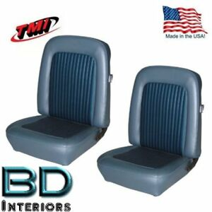 1968 - 1977 Ford Bronco Replacement Seat Upholstery - Front & Rear, Made in USA