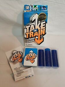 Take The Train Card and Strategy Game with Manuel