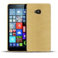 Schutz Hülle für Microsoft Lumia 640 Silikon Case Handy Tasche Cover Bumper