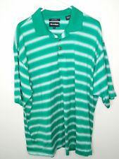 Bollé Golf SS Polo Shirt Size 2XL Green White Men's Bolle