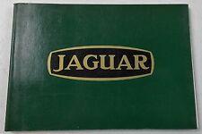 "1980 JAGUAR HISTORY BOOK 4""X6"" ITALIAN BOOKLET XK120 XK140 E-TYPE SS DAIMLER"