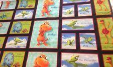 Dinosaur Train Tm Henson VIP Fabric Character Panel Buddy Shiny Tank Pterandodon