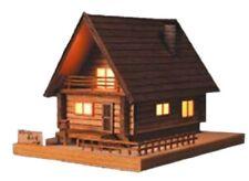 Woody of JOE lamp 2 log house Forest House Wooden Mini Model Kit Japan
