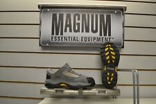 Magnum Worker Low Grey Suede / Nylon Steel Toe Cap Safety Trainers Shoes UK 6