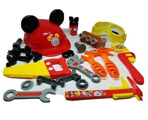 Disney Mickey Mouse Clubhouse Handy Helper Kids Toy Tool Lot