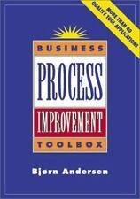 Business Process Improvement Toolbox