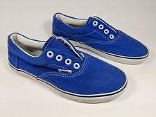 Vans boys blue trainers uk 2 eu 34