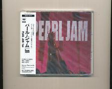 Pearl Jam TEN CD Japan OBI SEALED BRAND NEW MINT Rare
