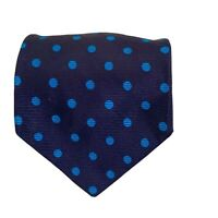 PAUL SMITH POLKA DOT BLUE Silk TIE 56/4 Inches Made In Italy