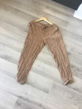 Zara Pants  Trafalu Collections Beige Brown Size Small