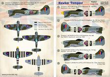 imprimé Échelle 1/48 Hawker Tempest Mk.V Partie 2 # 48126