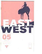 2 Image Comic Books East of West # 5 America's Got Powers # 7 Hickman Ross WM7