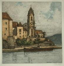 Josef EIDENBERGER (1899-1991) Dürnstein.