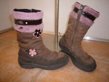 Winter Stiefel Schuhe 32 Ricosta braun rosa
