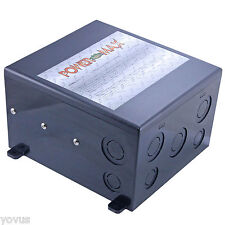 PowerMax PMTS-50 AMP 120 240 VAC RV GENERATOR AUTOMATIC TRANSFER SWITCH