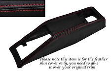 RED STITCHING SEAT BELT BINNACLE SKIN COVER FITS TRIUMPH STAG MK1 MK2 70-77