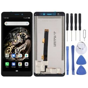 BLACK LCD Panel Screen Digitizer Full Complete Replacement For Ulefone Armor X5