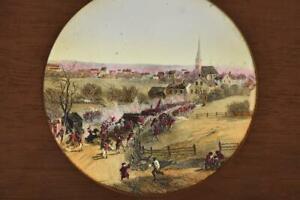 U.S.HISTORY - Civil War Magic Lantern Slide McIntosh - Retreat from Concord