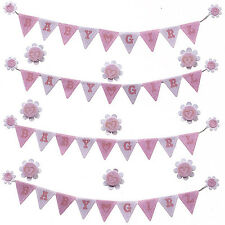 JOLEES BOUTIQUE - BABY GIRL BANNERS 50-21656