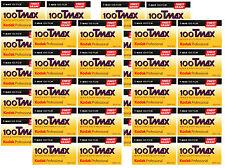 40 Rolls Kodak T-MAX 100 35mm Film TMX 135-36 B&W Black & White Negative FRESH