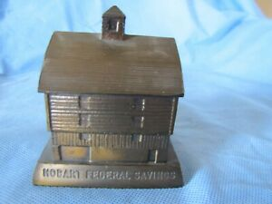 BANTHRICO OLD HOBART MILL   SOUVENIR BUILDING BANK HOLBART IN