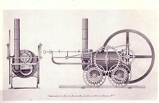 Stampa incorniciata-Coalbrookdale Locomotiva a vapore invitato da Richard Trevithick 1804