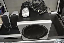 4 X Logitech Z2300 Haut-parleur système  200 w 2.1 THX PC en fly case tbe