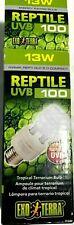 13 watt reptile uvb 100, tropical uvb, Exo terra
