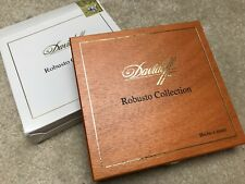 DAVIDOFF ROBUSTO COLLECTION EMPTY WOODEN CIGAR BOX COLLECTIBLE