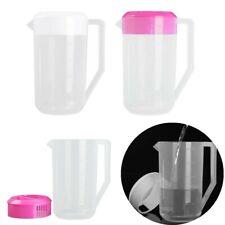 US_2500ML Plastic Water Pitcher Jug Bottle Large Capacity for Drinks Tea Juice