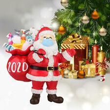 2020 Papá Noel Árbol de Navidad Interior Ornamento Colgante Decoración
