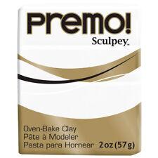 Premo Sculpey Polymer Clay 2oz - White