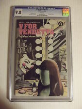 V for Vendetta #1 - CGC 9.8 - D.C. Comics, 9/88 - Wraparound Cover - 0228961025
