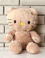 """Sunkissed Hello Kitty! Tropical Tan Build A Bear BAB 19"""" Plush Stuffed- Clean!"""