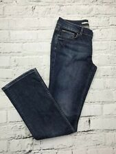 TOPSHOP Blue Denim Straight Leg Casual Jeans With Pockets Size 12
