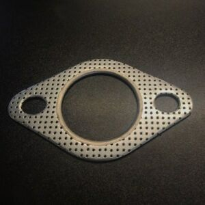 """Reinforced 2 Bolt Exhaust Flange Gasket Downpipe 2""""  51mm Turbo INC FIRE RING"""