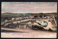 78065 AK Villingen Gewerbe Industrie Ausstellung 1907