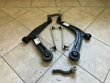 FIAT PANDA 03-12 TWO FRONT WISHBONE SUSPENSION ARMS 2 TRACK ENDS 2 DROP LINKS LR