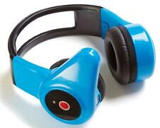 TTS Blue Childs Tough Stereo Headset Wireless Bluetooth Headphones with Mic
