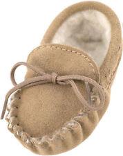 Chaussures beige moyen en daim pour garçon de 2 à 16 ans