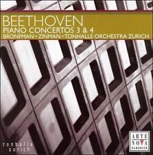 Beethoven: Piano Concertos Nos. 3 & 4, - (Compact Disc)