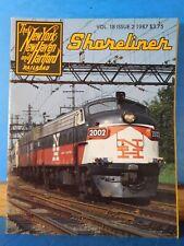 NYNH&H Shoreliner 1987 Vol 18 #2 Preservationists Triumph