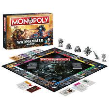 MONOPOLY - WARHAMMER 40.000 / 40K - Winning Moves 45342 - NEU